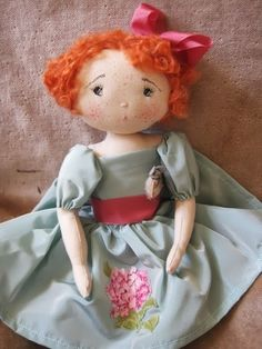 What a cute doll ...