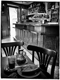 Breakfast in Jerez.