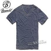 T-Shirt Brandit Dexter blau #ArmyShop #NATO #Adventure #Security #Military #Camping