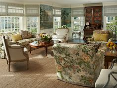 The Glam Pad: An Elegant Living Room by Larry Hooke