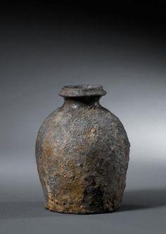 Shigaraki japanische Keramik hanaire
