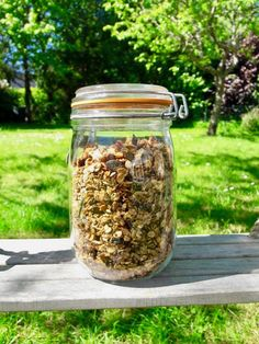 Granola Maison Healthy, Muesli, I Foods, Clean Eating, Fiber, Brunch, Food And Drink, Veggies, Menu
