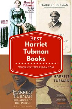 Best Harriet Tubman Books #civilwarsaga #harriettubman #blackhistory #historybooks