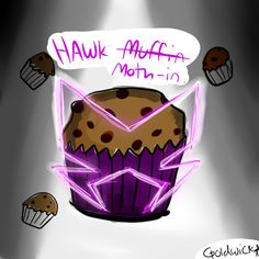 Hawk Moth-in. Muffin