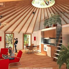 More yurt ideas