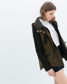 Zara: Just added to my closet - LOVE Raincoat, My Style, Jackets, Clothes, Women, Summer, Fashion, Rain Jacket, Moda