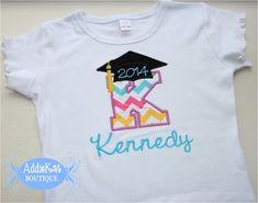 Personalized Preschool or Kindergarten Graduation Shirt on Etsy, $25.00