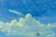 「the blue at twilight」/「エビーネ」のイラスト [pixiv]