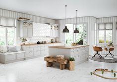 Luxur y Küche Design Moderne-Layout . Kitchen Pantry, New Kitchen, Kitchen Dining, Kitchen Decor, Kitchen Appliances, Wood Interior Design, Interior Design Living Room, Apartment Kitchen, Kitchen Interior