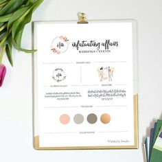 Infatuating Affairs Branding Guide |  Writefully Simple