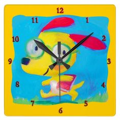 nerd dog wall clock  Click on photo to purchase. Check out all current coupon offers and save! http://www.zazzle.com/coupons?rf=238785193994622463&tc=pin
