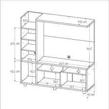 Plano y medidas como hacer un esquinero de cocina de for Planos de muebles de cocina pdf