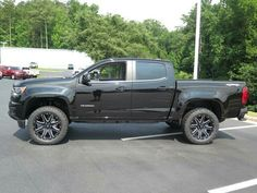 "2016 Chevrolet Colorado W/T with a 2"" Procomp lift, Procomp wheels and BFG 275/55R20 tires. Nice clean look!"