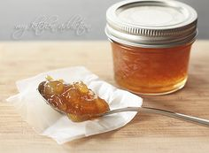 Amaretto Apple Preserves