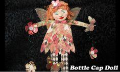 Bottle Cap Doll