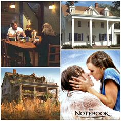 """ALL TIME FAVORITE MOVIE. """"The Notebook"""" movie houses 