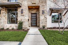 Delrose - modern - Exterior - Dallas - Ron Davis Custom Homes