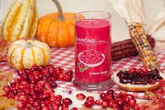 Cranberry Chutney Ring Candle. Diamond Candle - hidden in the candle is a ring worth anywhere between $10 - $5000 Get 20% off your entire order with this link http://my.cndl.es/x/ZhkKQy