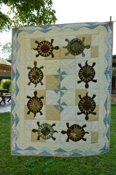 Looking for quilting project inspiration? Check out Turtle Travels by member mj.chicos1036124.