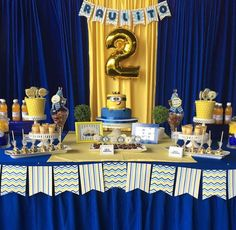 Mesa Minions Instagran Partyideas_ec Minions Birthday Theme, 2nd Birthday Boys, Second Birthday Ideas, King Birthday, Birthday Themes For Boys, Minion Party, Birthday Crafts, 3rd Birthday Parties, Birthday Party Decorations