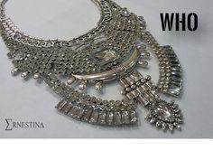 Collar pechera boho fashion trendy