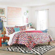 Teen Vogue® Kaleidoscope 3-Piece Full/Queen Comforter Set