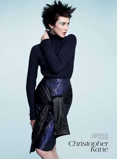 VOGUE AUSTRALIA  EDITORIAL  BRAVE NEW LOOK  AUGUST 2012  EDITION  PHOTOGRAPHED BY  NICOLE BENTLEY