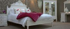 chambre à coucher de style chabby chic