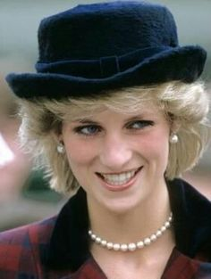 3 April 1985 Diana visited Redruth, Cornwall to open a miners housing development