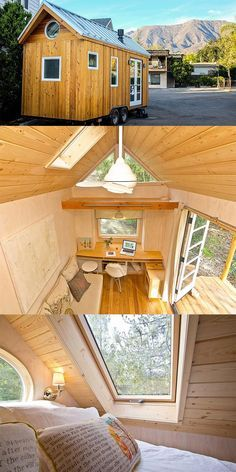 Vina Lustado; designs and builds her own 140 sq ft home. ♡