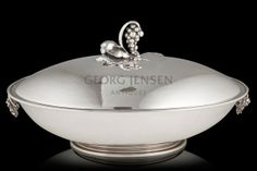 Monumental Georg Jensen Oval Vegetable Dish 408A