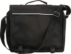Carrier Laptop Bag Includes: Main Padded Zip Compartment, Front Zip Compartment, Side Net Pocket and Divider for Documents and Stationery Colours:Black Material used: Size (w) x 30 (h) x 10 (d) Branding Methods:Silk screening,Heat Transfer Gadget Gifts, Laptop Bags, Heat Transfer, Messenger Bag, Divider, Satchel, Stationery, Branding, Colours