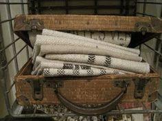 Antique Suitcase for displays