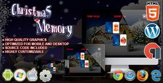 Christmas Memory - HTML5 Construct Puzzle Game