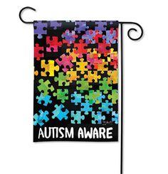 """Garden Flag """"Autism Awareness"""""""