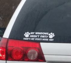 Is your vehicle promoting the latest - NOSE Art? Gotta love it!