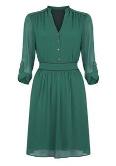 Tie Waist Dress - Ladylike Chic - Shop By Trend
