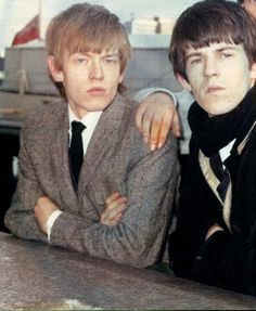 Brian Jones and Keith Richards of the Rolling Stones, circa 1964