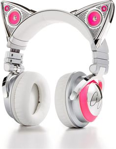 2019 Home and Car Electronics Gift Guide - Christmas Gifts for Everyone Cute Headphones, Bluetooth Headphones, Ariana Grande Cat Headphones, Kawaii Accessories, Phone Accessories, Girly Things, Cool Things To Buy, Stuff To Buy, Accessoires Iphone