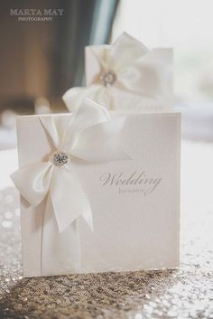 Luxury Satin Ribbon Wedding por PapermemoriesUk en Etsy