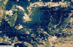 Météo: dépression tropicale et mauvais temps ce week-end ...