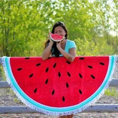 ❤❤❤ #watermelon #towel #watermelontowel #lovewatermelon