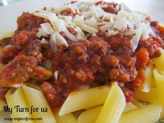 My Turn for us: Bolognese Sauce