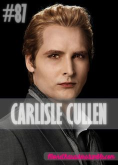 CARLISLE CULLEN  Played By: Peter Facinelli Film: Twilight / New Moon / Eclipse / Breaking Dawn Part 1 / Breaking Dawn Part 2 Year: 2008 / 2009 / 2010 / 2011 / 2012