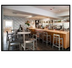 The Bar at The Lands End Hotel, Cornwall by absolute.interiors