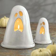 Terracotta Ghost Lantern