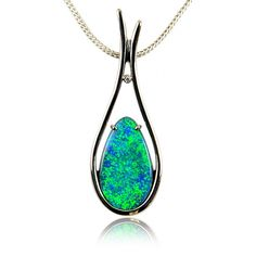 20138028 - Solid Black Opal Pendant   Opals Down Under