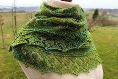 Free Pattern: Moss Garden by Agnes Kutas Keresztes