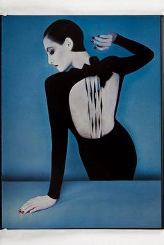 Serge Lutens : model  Ines de la Fressange