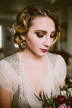 Vintage bridal makeup #bridalmakeup #bridal @weddingchicks